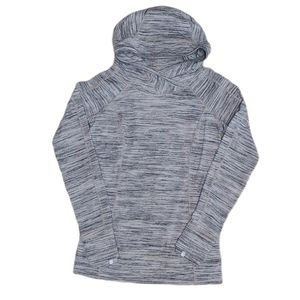 Lululemon Heathered Gray Think Fast Hoodie 6